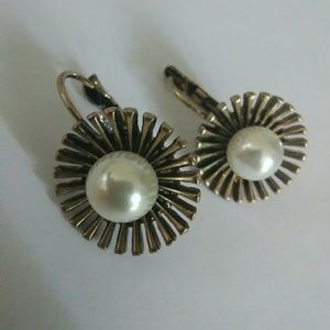 Pearl fancies! By Betsey Johnson earrings
